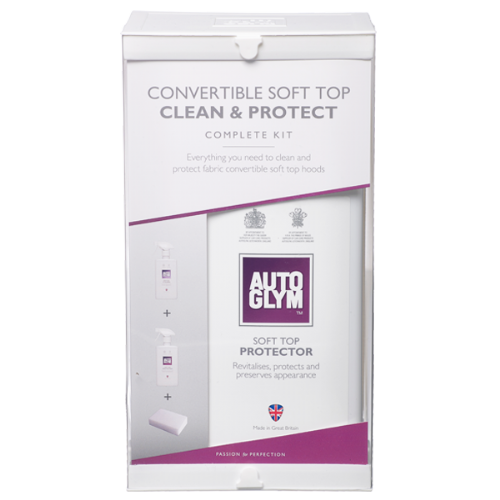 Autoglym Convertible soft top clean and protect kit